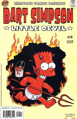Обложки, рекламные материалы: Bart Simpson German-19.